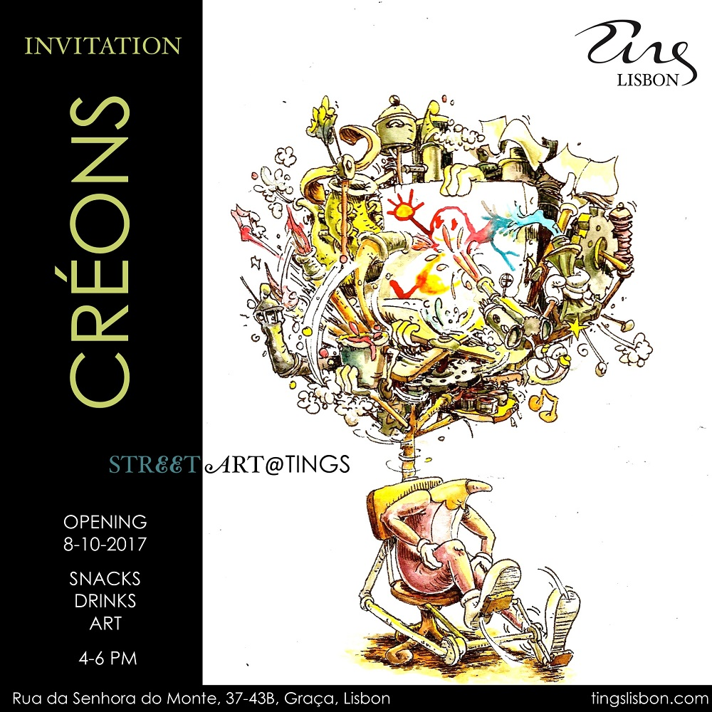 2nd Lisbon Edition of Tings Art opens on 8 October